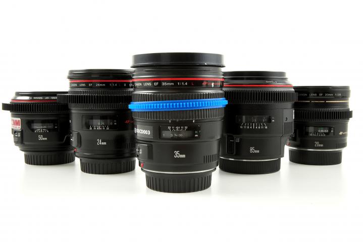 Canon L USM 20-85mm Set