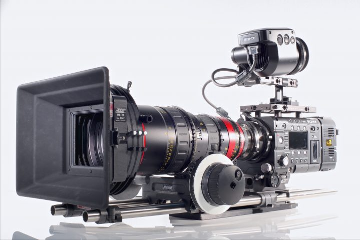 SONY F55 LHS Hero
