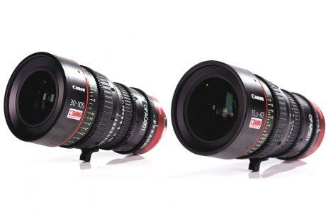 Canon Cine Zoom pair