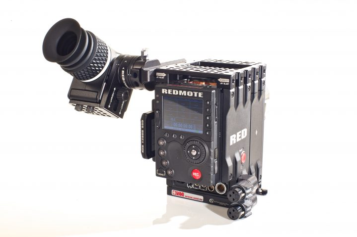 RED EPIC 34 REAR BODY ONLY