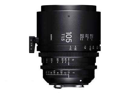 Sigma 105mm Cine Prime 3-2