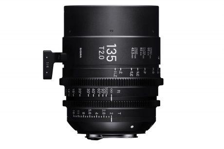 Sigma 135mm Cine Prime 3-2