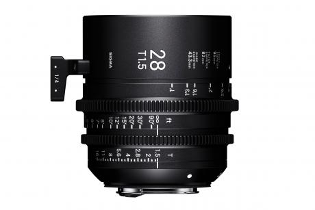Sigma 28mm Cine Prime 3-2