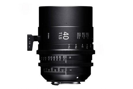 Sigma 40mm Cine Prime 3-2