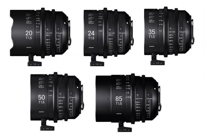 Sigma_Cine Prime 5 lens Set 20-85 3-2