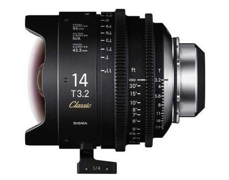 Sigma Classic Prime 14mm 3-2