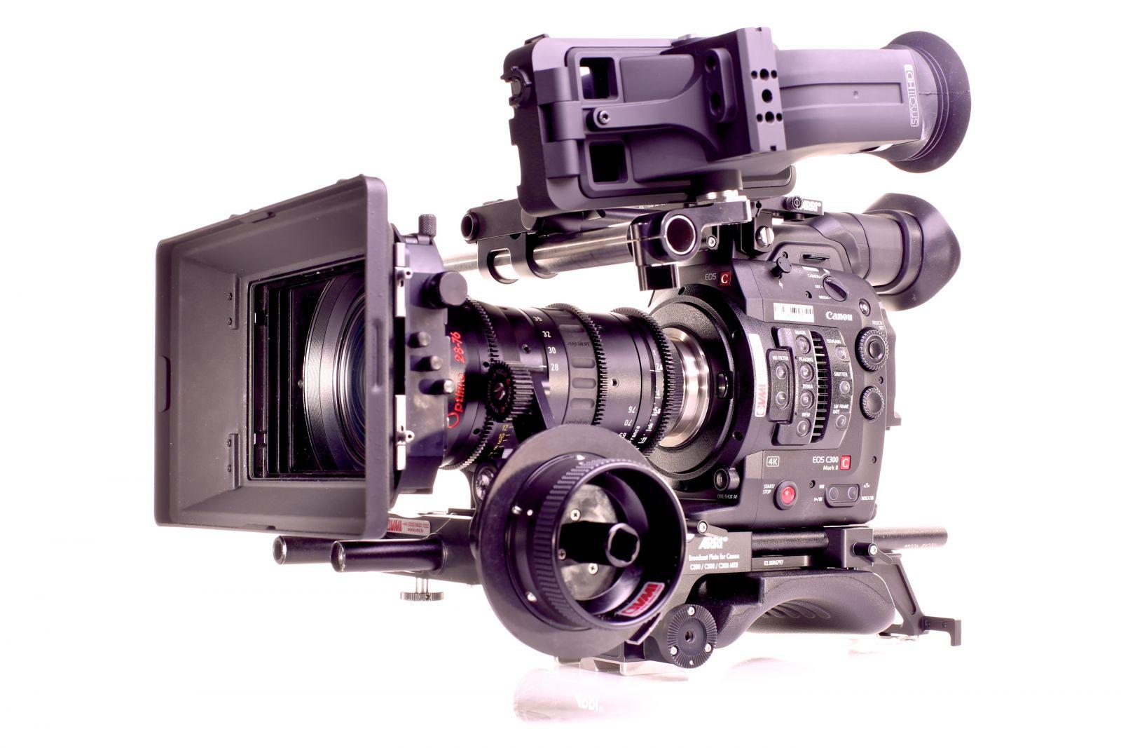 Canon C300 Mk II 4K Camcorder
