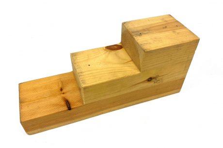 2 4 6 inch wooden blocks