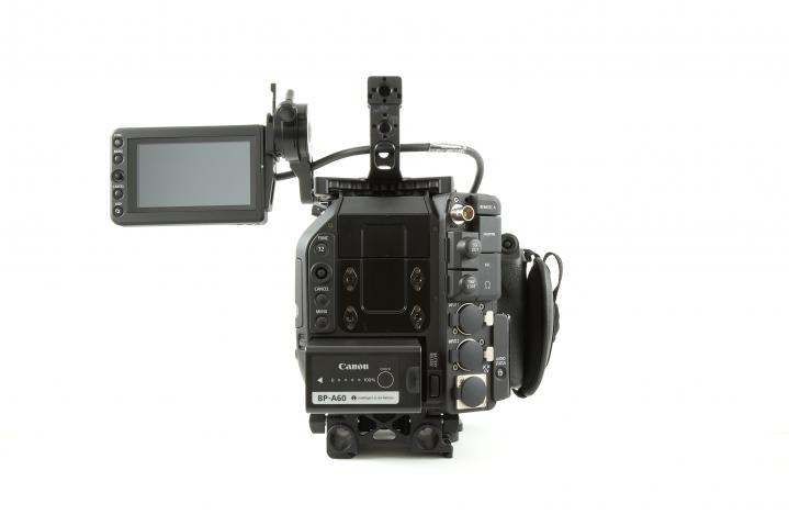Canon C500 No Extender Back