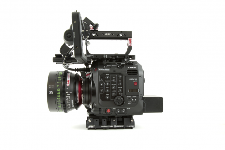 Canon C500 No Extender Left