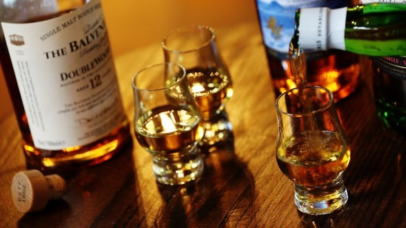 Ballantyne Heritage Whisky Campaign