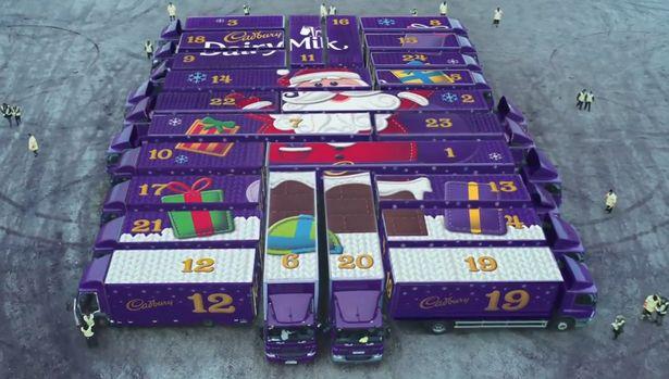 Cadburies Christmas 2015 Ad Campaign