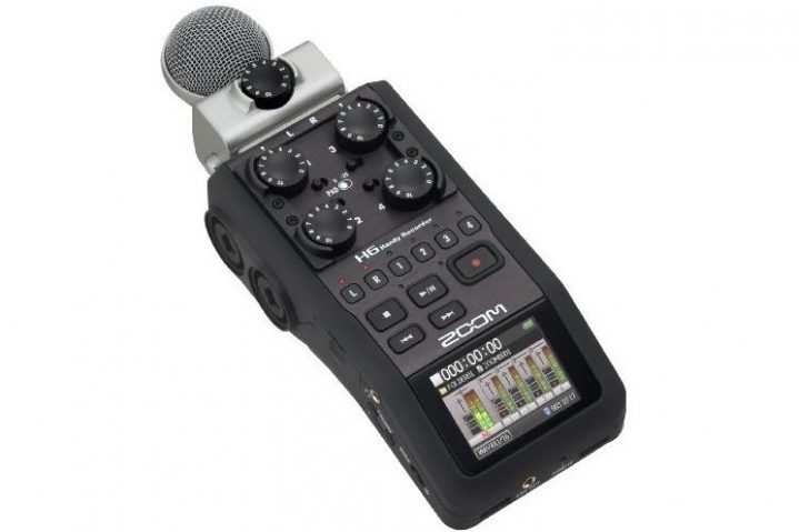 Zoom_H6n audio recorder