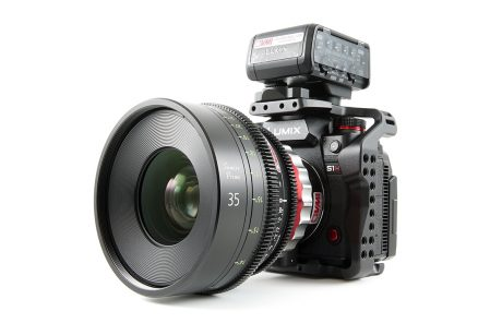 Panasonic S1H Front Hero