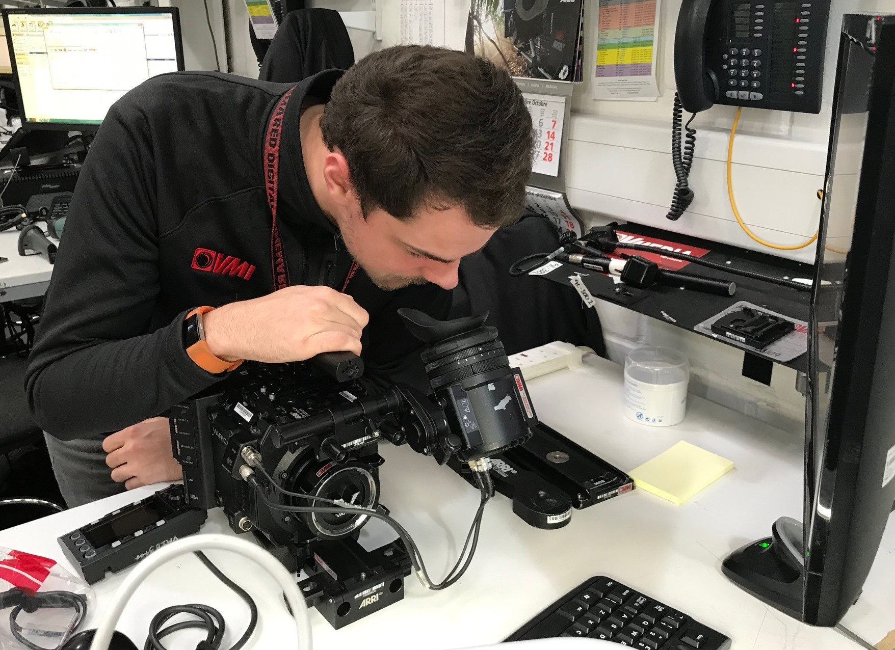 VMI helping to launch UK's first Apprenticeship Standard for Camera Technicians