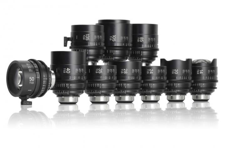 Sigma Cine/I 10 set