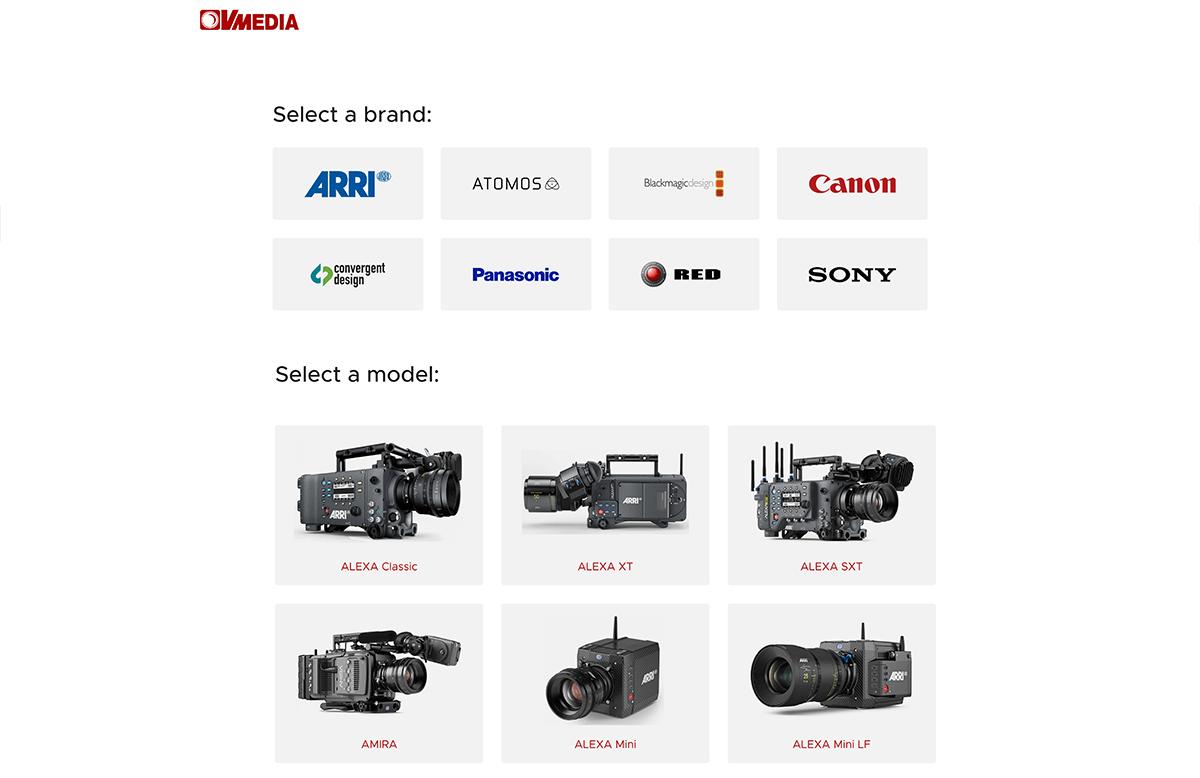 Brand New VMEDIA on-line database V2