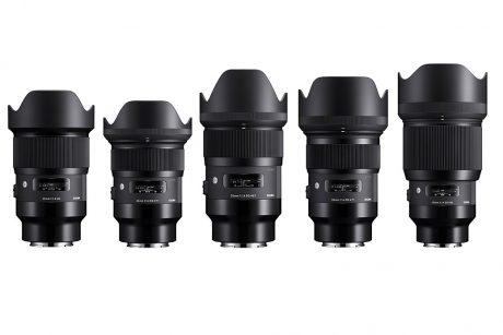 Sigma Art Lenses Full - 5 lens set