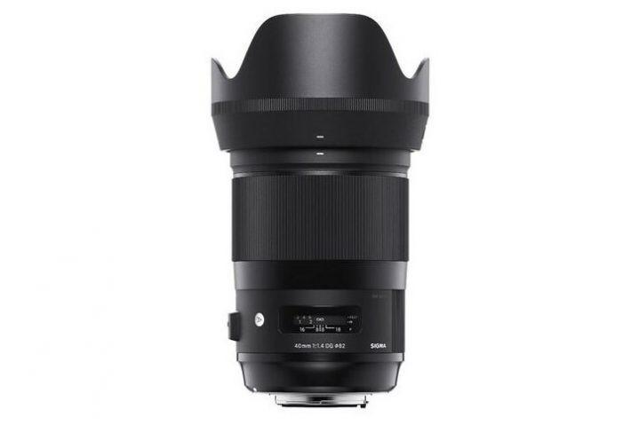 Sigma art 40mm EF prime