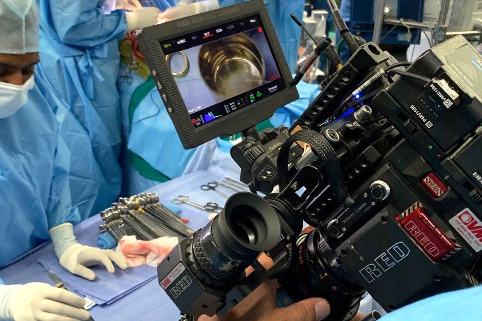 Netflix Surgeon's Cut Shooting With Cinema Cameras and Lenses