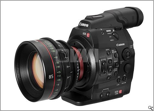 Canon C300 Profile Left