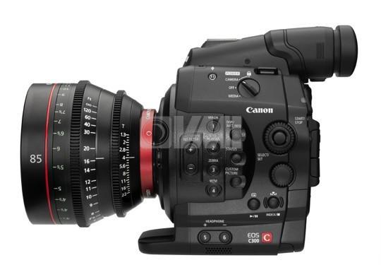 Canon C300 Left