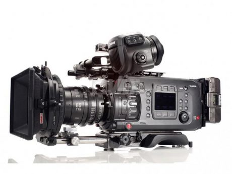 Canon C700 Camera Side View