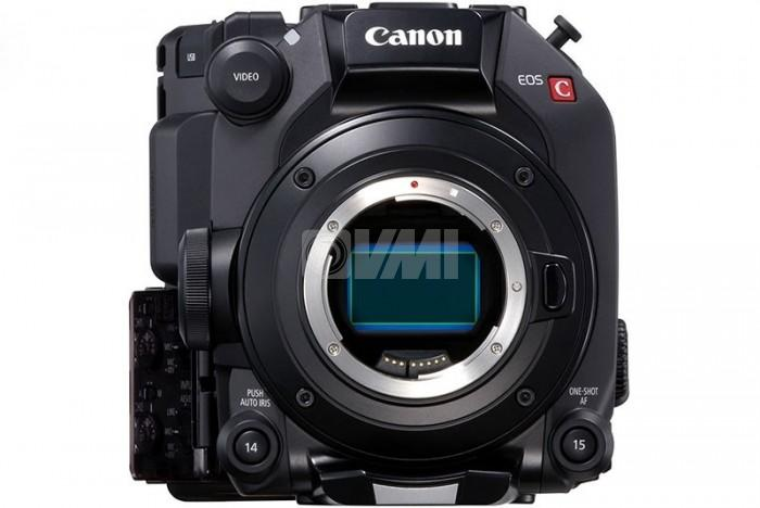 Canon C500 Mark II Front