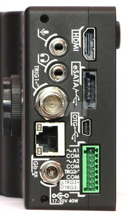 Chronos Super Slow Motion Camera Inputs