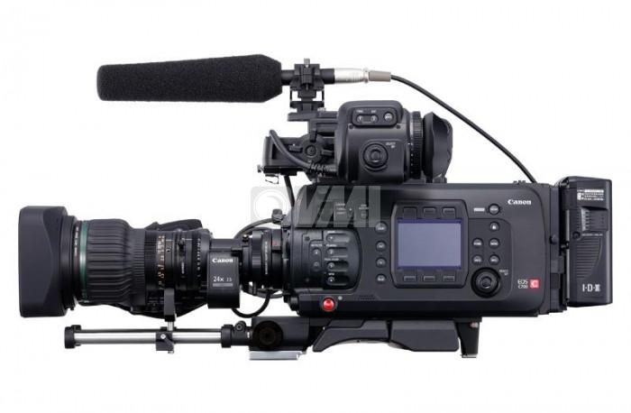 Canon C700 Side