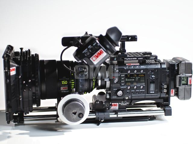 Sony PMW-F55 XDCAM EX 2K/4K Camera Left