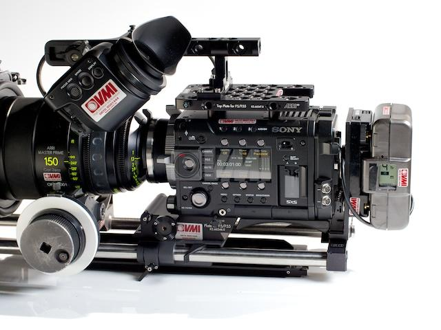 Sony PMW-F55 XDCAM EX 2K/4K Camera Left 2